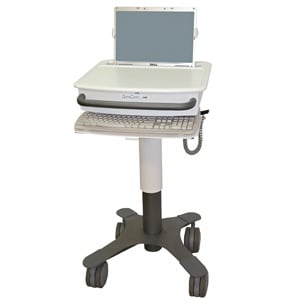 Lund DCT1B35 Cart Laptop Carts - Mobile Computer Carts - Laptop on Wheels