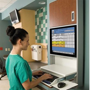Nurse using wall cabinet 300x300.jpg