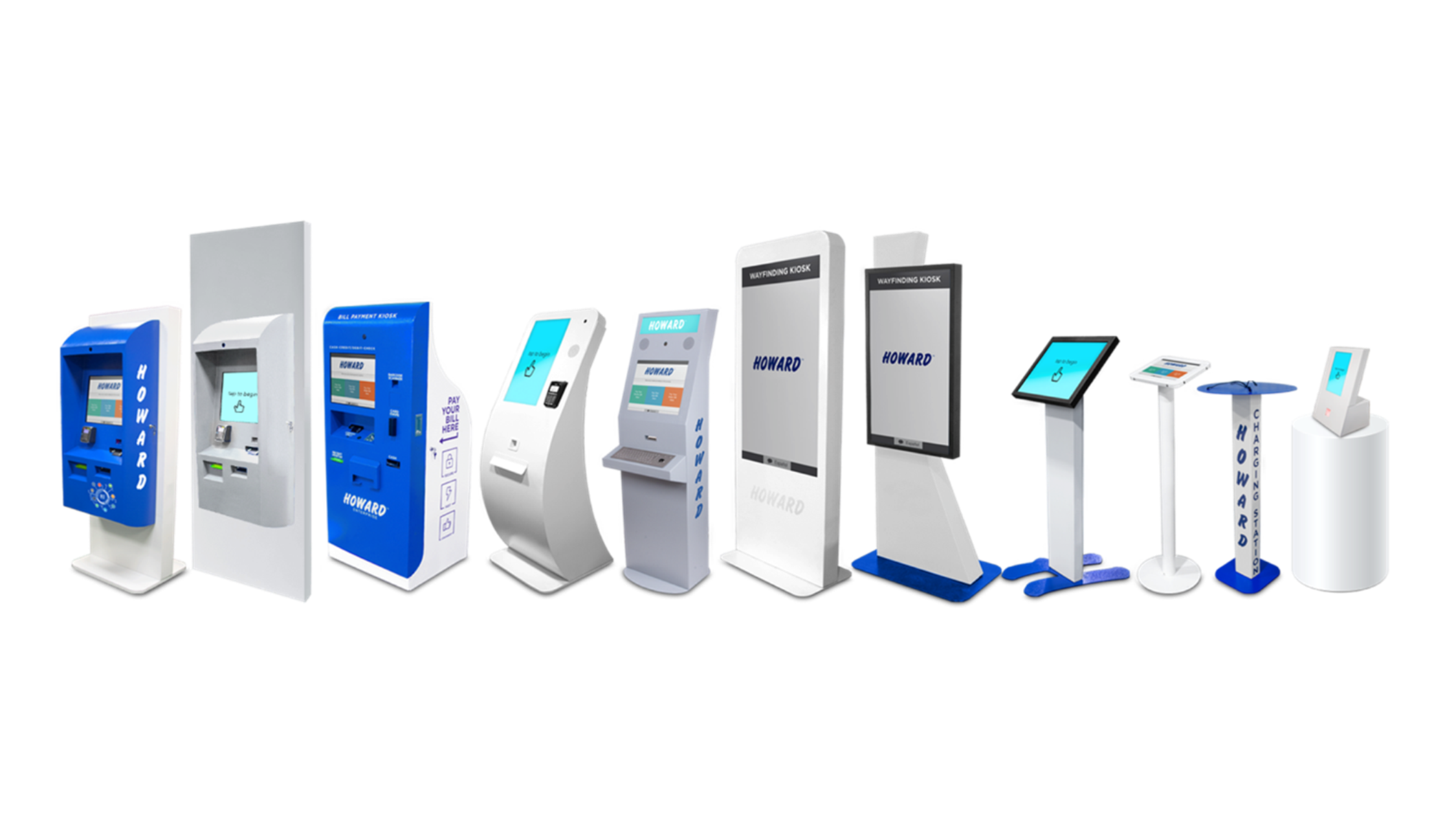 Full Kiosk Line Up