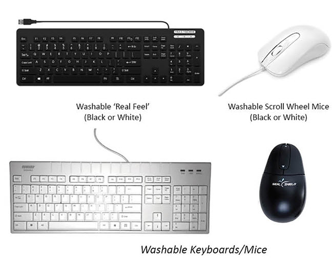 Washable Keyboards Mice650