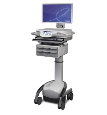 howard computer carts nursing simulation labs