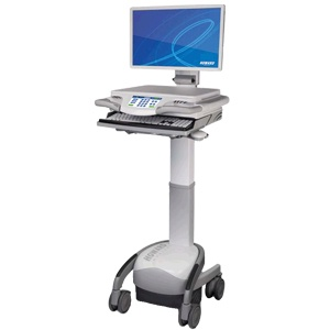 EMR-Workstation on Wheels (WOW)-Powered Carts Thumbnail